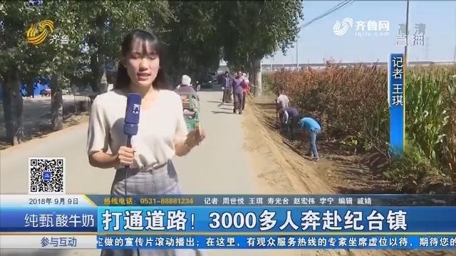寿光:打通道路!3000多人奔赴纪台镇
