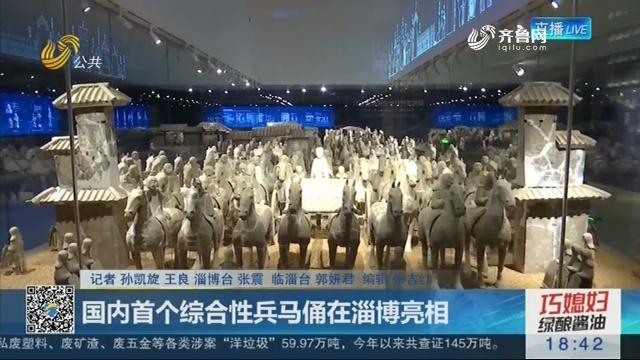 国内首个综合性兵马俑在淄博亮相