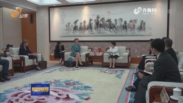 英国驻华大使吴百纳接受本台记者专访