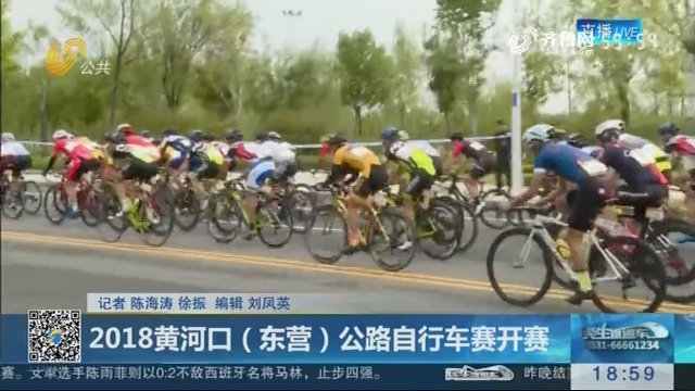 2018黄河口(东营)公路自行车赛开赛