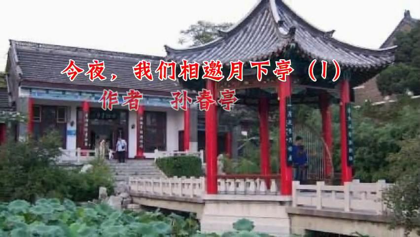孙春亭诗歌:今夜我们相邀月下亭