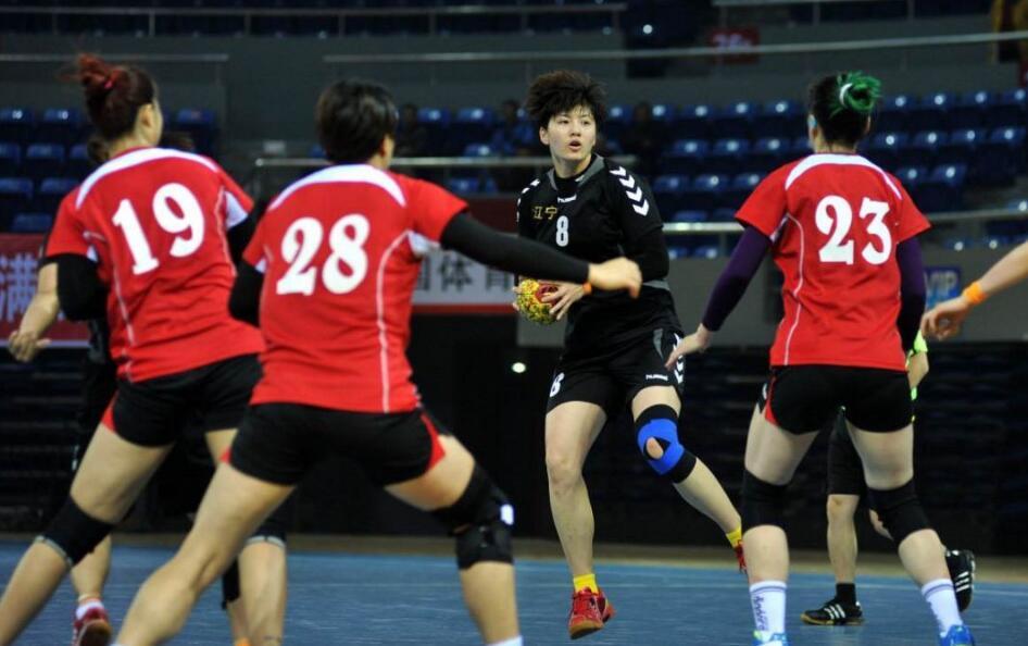 省运会手球项目决赛在淄博举行