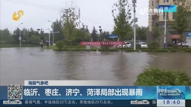 海丽气象吧:临沂、枣庄、济宁、菏泽局部出现暴雨