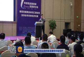 【齐鲁金融】2018中国临沂供应链金融创新发展研讨会召开《齐鲁金融》20180919播出