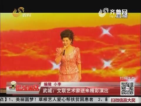 武城:文联艺术家送来精彩演出