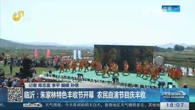 【中国农民丰收节】临沂:朱家林特色丰收节开幕 农民自演节目庆丰收