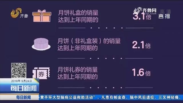 月饼大数据 五仁月饼销量夺冠