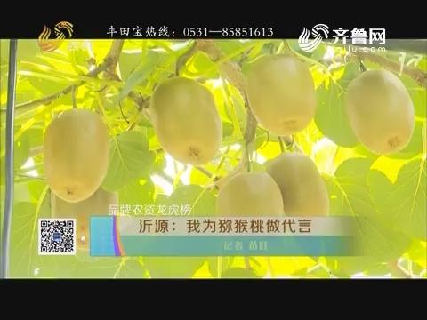【品牌农资龙虎榜】沂源:我为猕猴桃做代言