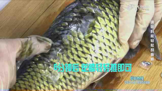 《是真还是假》:刮鱼鳞根本不用刀,只需要一种调味料就能搞定!