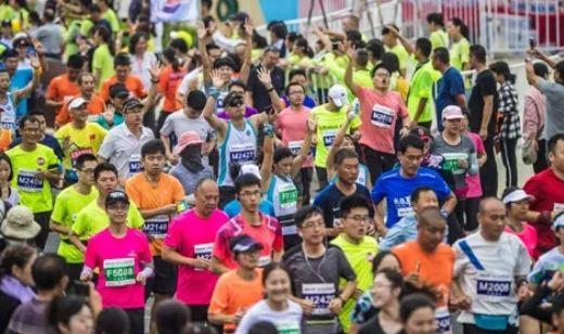 长岛环岛马拉松引四千人登岛