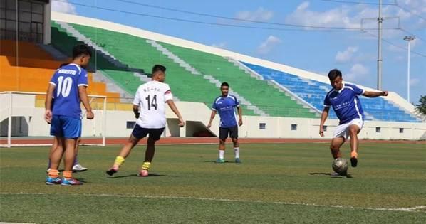 2018山东省大学生足球赛乳山开赛