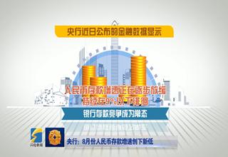 【齐鲁金融】央行:8月人民币存款增速创下新低《齐鲁金融》20181003播出