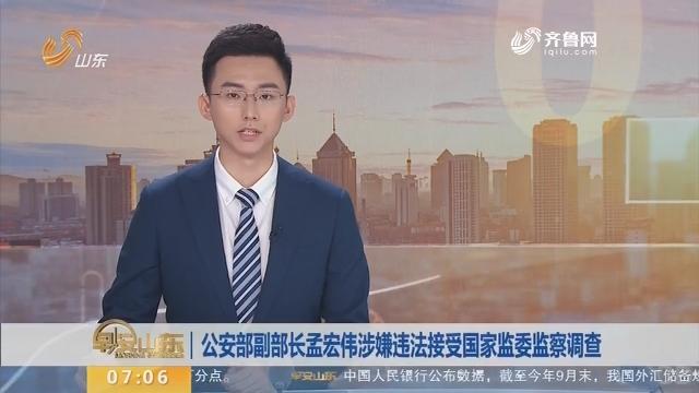 公安部副部长孟宏伟涉嫌违法接受国家监委监察调查