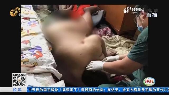 淄博:紧急!400斤男子发病被困四楼