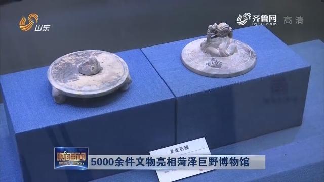 5000余件文物亮相菏泽巨野博物馆