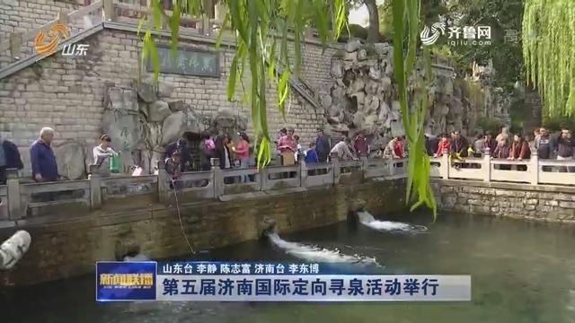 第五届济南国际定向寻泉活动举行