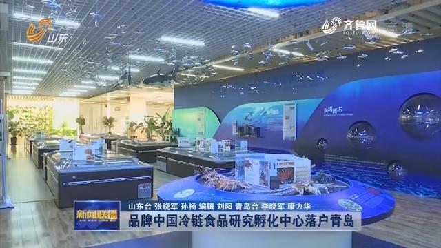 【动能转换看落实】品牌中国冷链食品研究孵化中心落户青岛