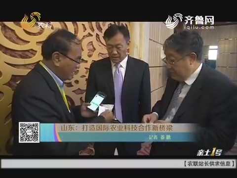 山东:打造国际农业科技互助新桥梁