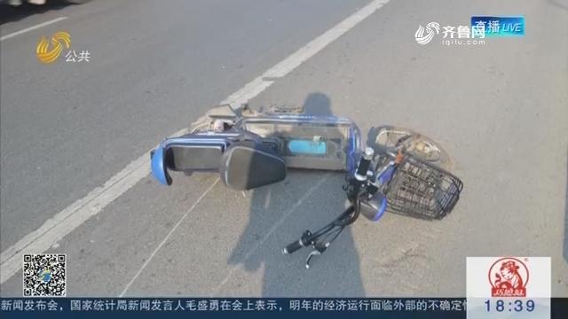 青州:轿车加速撞人后逃逸 背后暗藏感情纠葛