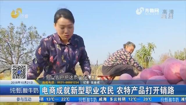 蒙阴:电商成就新型职业农民 农特产品打开销路