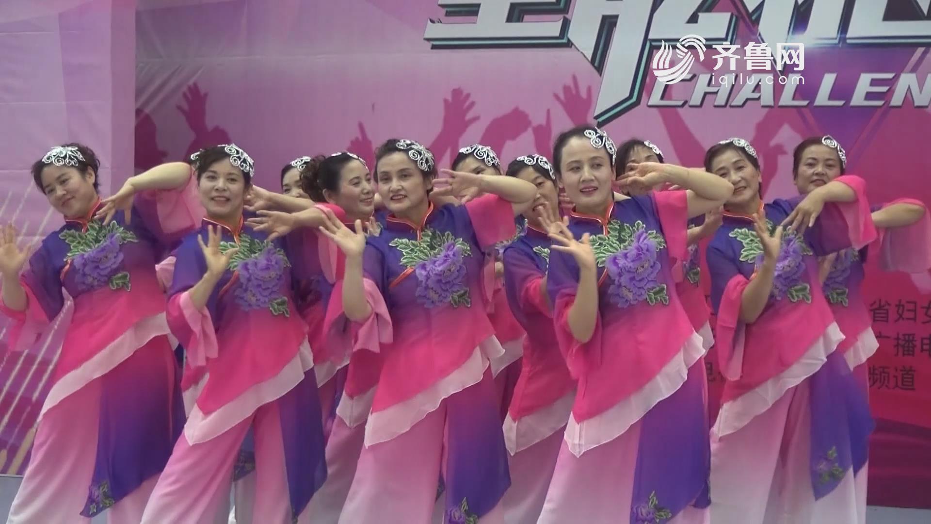 《全能挑战王》菏泽南城舞蹈队表演《梅花赋》