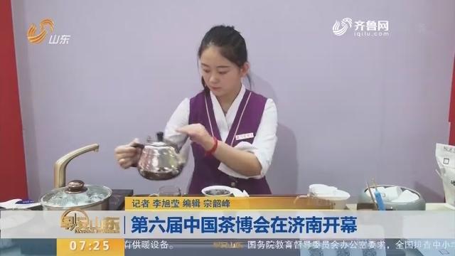 第六届中国茶博会在济南开幕