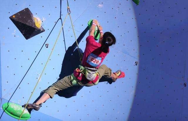 全民健身运动会攀岩总决赛在齐河举行