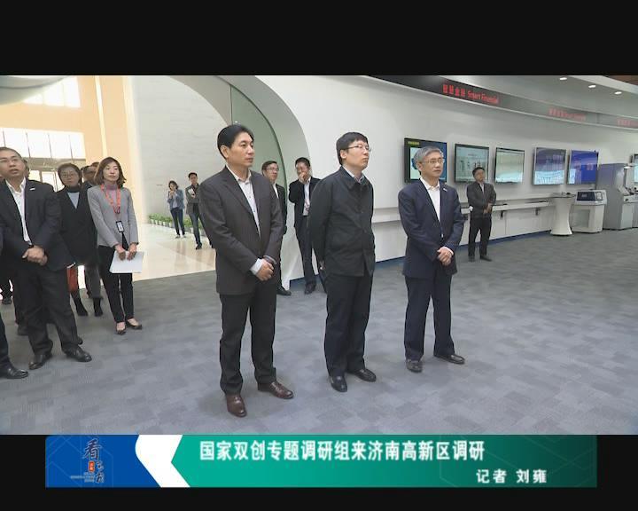 国家双创专题调研组来济南高新区调研