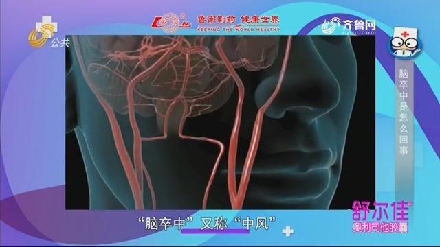20181104《身体健康》:脑卒中是怎么回事