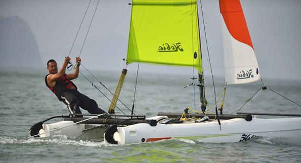 2018长岛帆船摩托艇大赛举办