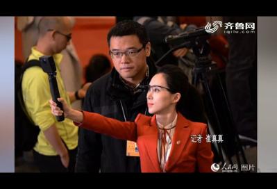 【记者节 在路上】镜头背后 不一样的记者模样