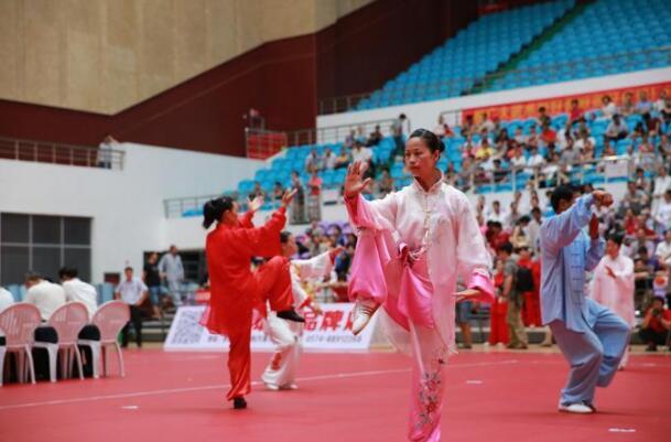 全民健身节传统武术比赛宁津开赛