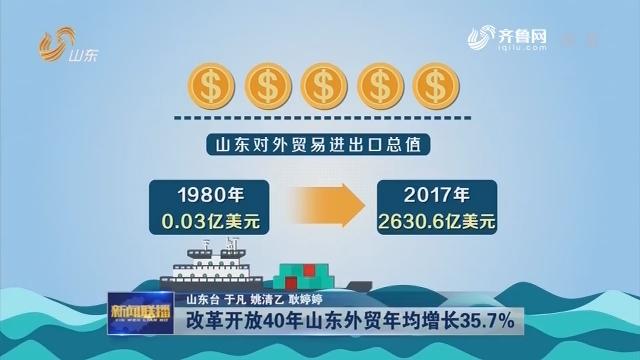【权威发布】改革开放40年龙都longdu66龙都娱乐外贸年均增长35.7%
