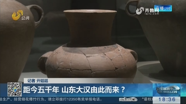 """【""""考古新发现——山东焦家遗址出土文物""""开展】距今五千年 山东大汉由此而来?"""