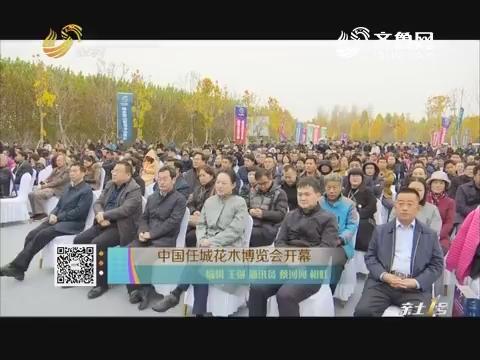 中国任城花木博览会开幕