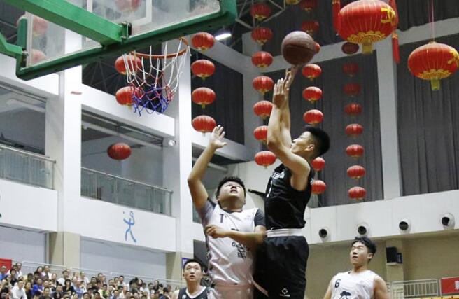 平阴:三人制篮球对抗赛