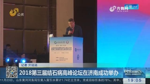 2018第三届结石病高峰论坛在济南成功举办