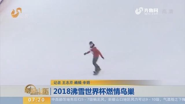 2018沸雪世界杯燃情鸟巢