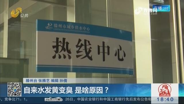 滕州:自来水发黄变臭 是啥原因?