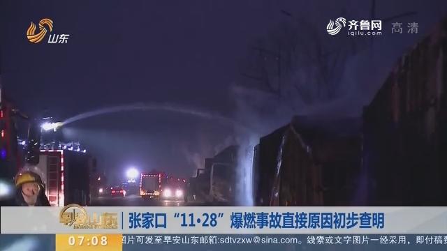 """【昨夜今晨】张家口""""11·28""""爆燃事故直接原因初步查明"""