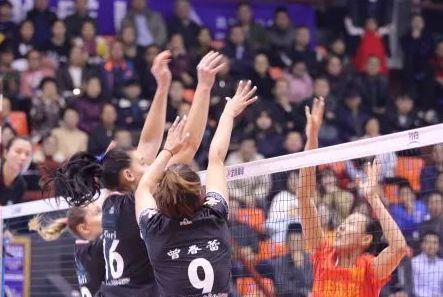 女排超级联赛第二阶段 山东首战击败北京