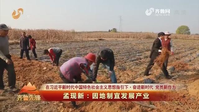 20181206《齐鲁先锋》:在习近平新时代中国特色社会主义思想指引下·奋进新时代 党员新作为 孟现新——因地制宜发展产业
