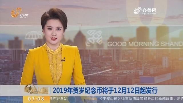 2019年贺岁纪念币将于12月12日起发行