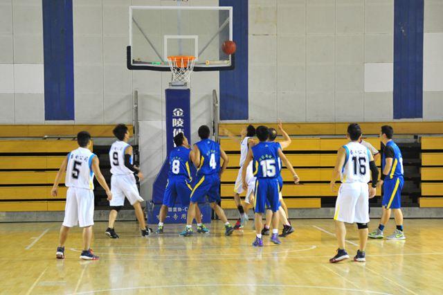 德州市冬季职工篮球联赛开赛