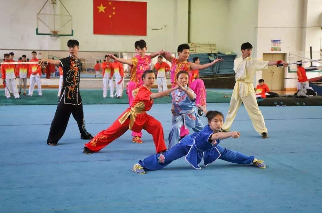 菏泽市首届武术比赛定陶赛区激情开赛