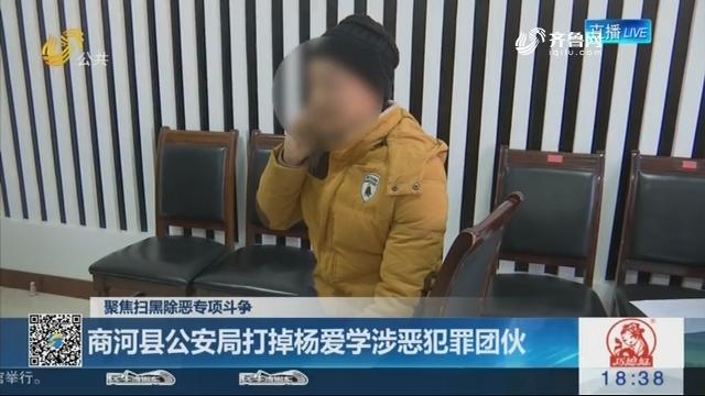 【聚焦扫黑除恶专项斗争】商河县公安局打掉杨爱学涉恶犯罪团伙