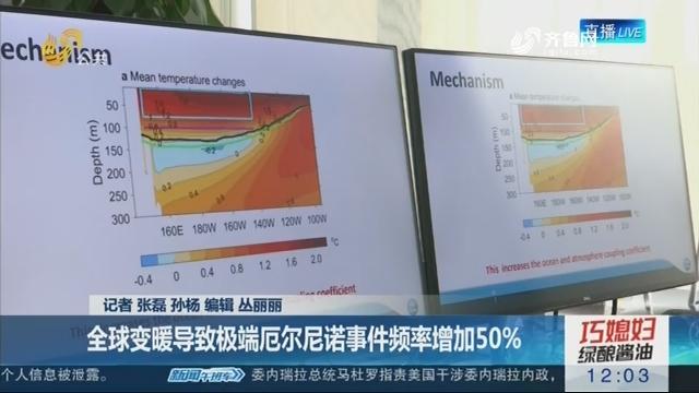 """【青岛海洋试点国家实验室揭示""""厄尔尼诺""""新秘密】全球变暖导致极端厄尔尼诺事件频率增加50%"""