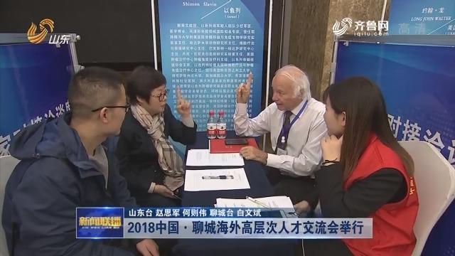 2018中国·聊城海外高层次人才交流会举行