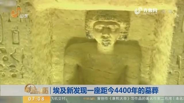 【昨夜今晨】埃及新发现一座距今4400年的墓葬