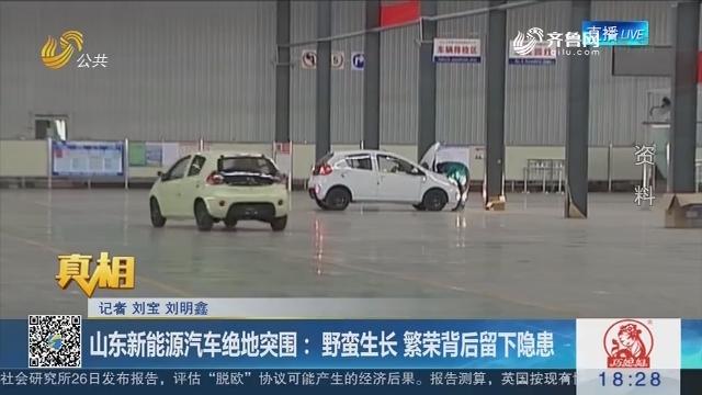 【真相】山东新能源汽车绝地突围:野蛮生长 繁荣背后留下隐患
